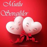 Открытка с днем Святого Валентина на турецком