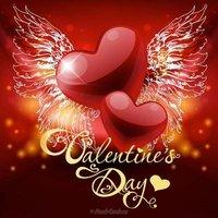 Открытка с днем Валентина на английском