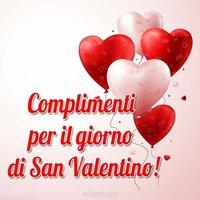 Открытка с днем Валентина на итальянском