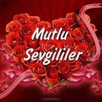 Открытка с днем влюбленных на турецком языке