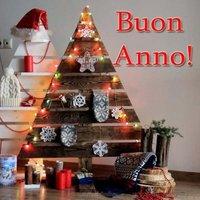 Открытка с новым годом на итальянском языке