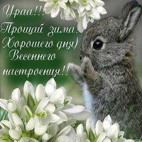 Первый день весны поздравление картинка