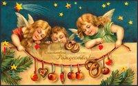 Поздравительная открытка с Рождеством Христовым 2019 загрузить