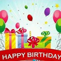 Поздравление с днем рождения на английском открытка мужчине