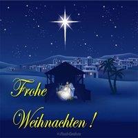 Рождественская открытка из германии