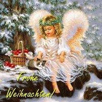 Рождественская открытка в германии