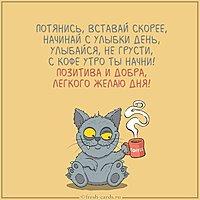Смешная фото картинка доброе утро