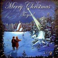 Старинная английская рождественская открытка