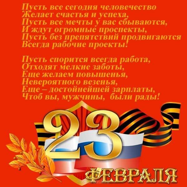 поздравления с днем защитника отечества начальнику тольятти