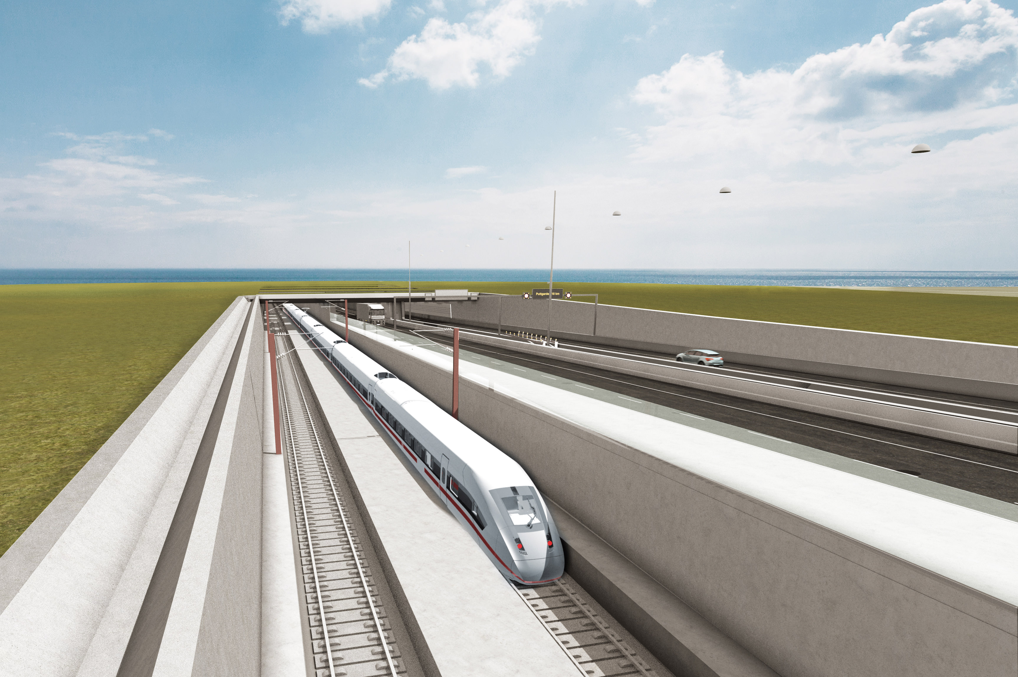 Fehmarnbelt fixed link consultants appointed