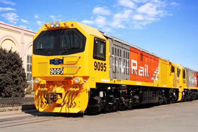 A KiwiRail DL Class locomotive. Credit: MTU.