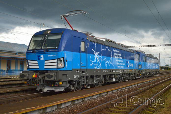 A Simens Vectron locomotive. Credit: CD Cargo.