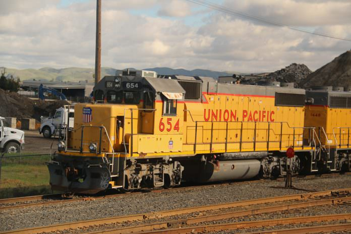 Stock photo of a Union Pacific locomotive. Photo: Supannee_Hickman/Shutterstock.