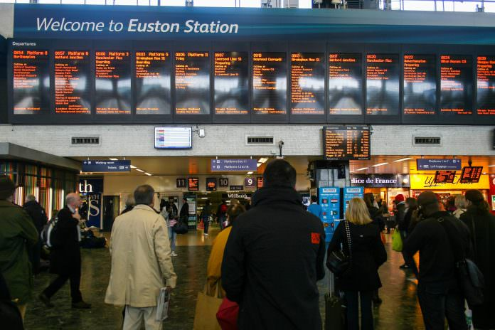 London Euston station. Credit: Berm Teerawat.
