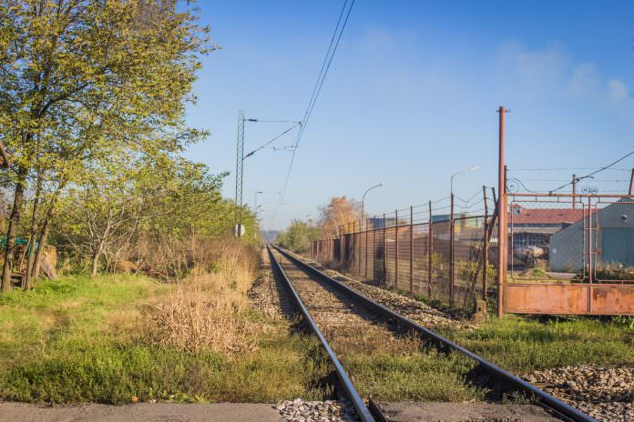 A stock photo of a railway line in Serbia. Credit: Danijelas/Shutterstock.