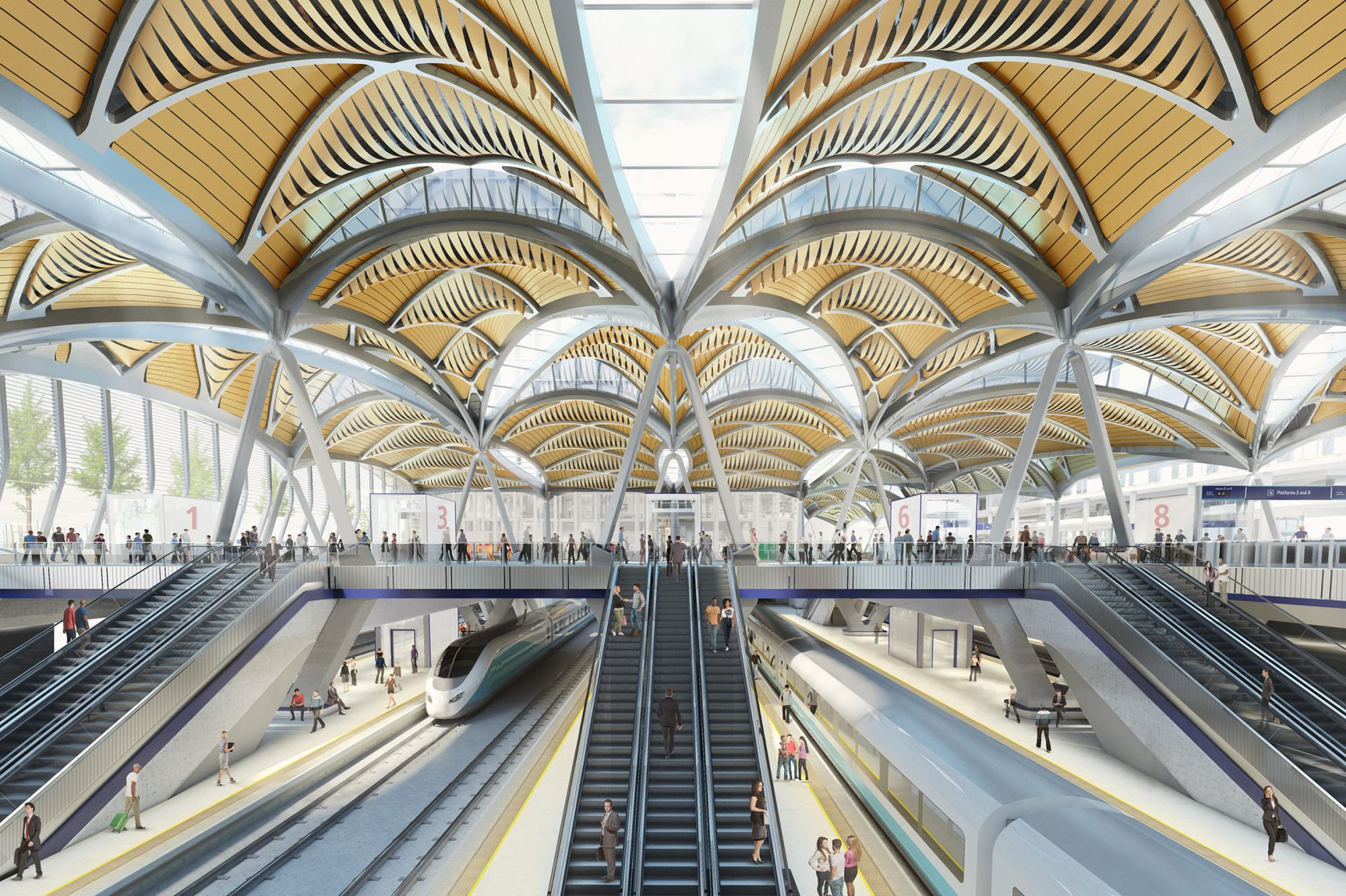 HS2 launches procurement competition for London station works