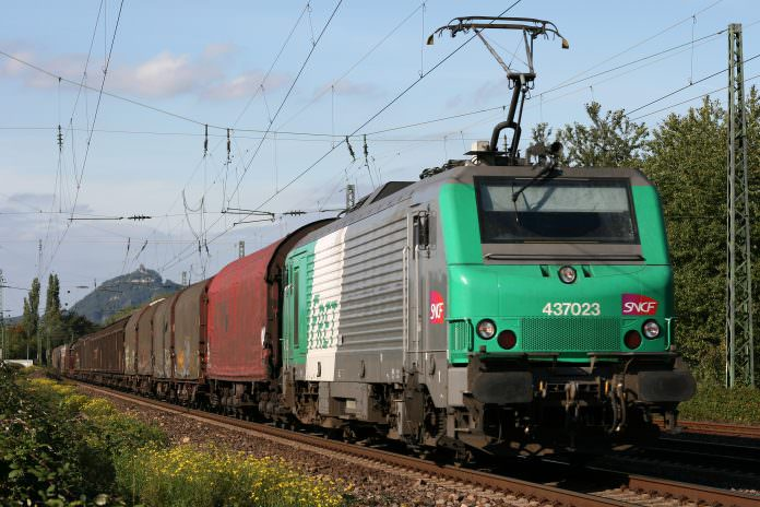SNCF will be experimenting with remote controlled freight trains in 2019. Credit: Thomas Wolf/Wikimedia.
