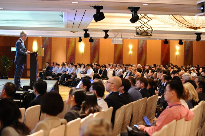 The industry briefing attracted almost 400 delegates. Credit: MyHSR.
