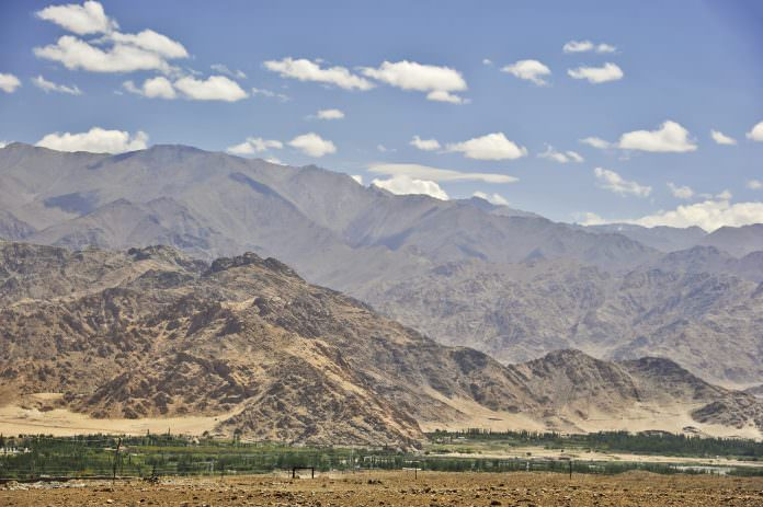 A stock picture of the mountains around Leh. Credit: PlanilAstro/ Shutterstock.