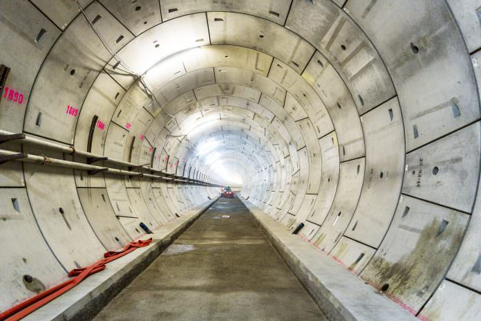 Atkins designed Crossrail's 21km twin-bore tunnels with design and engineering firm Arup. Photo: Paul Daniels/Shutterstock.