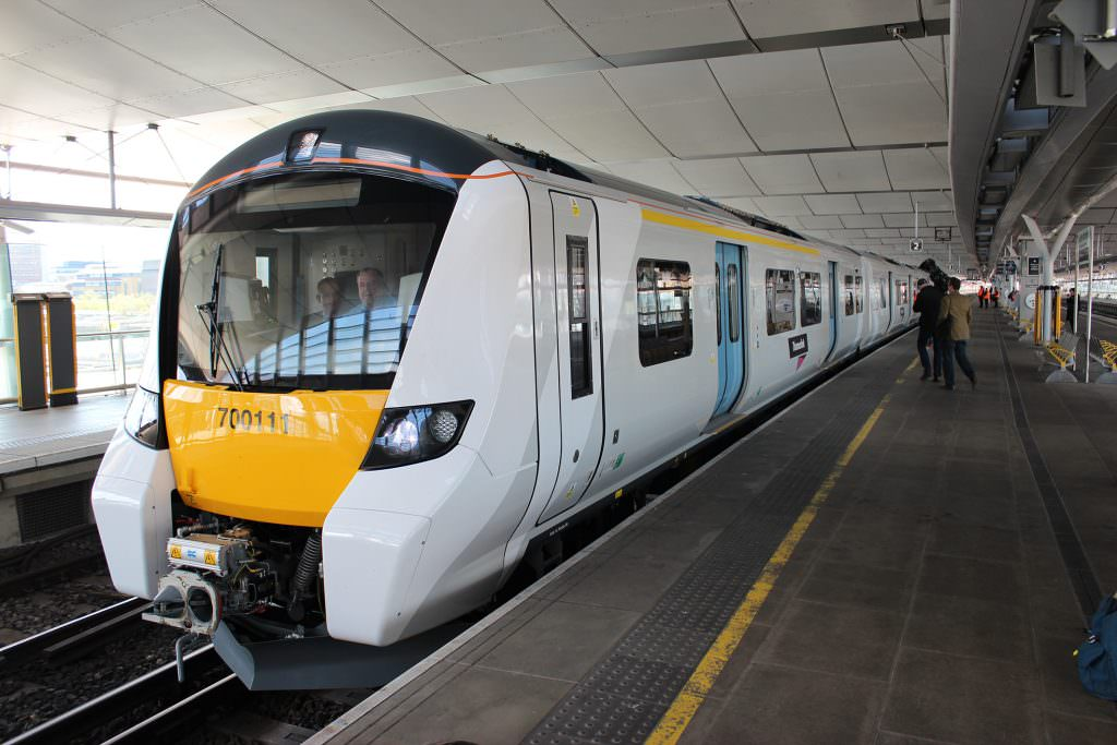 Class 700 at Blackfriars. Credit: GTR.