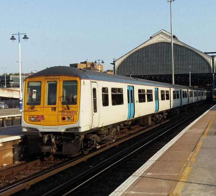 The last train at Brighton. Credit: GTR.