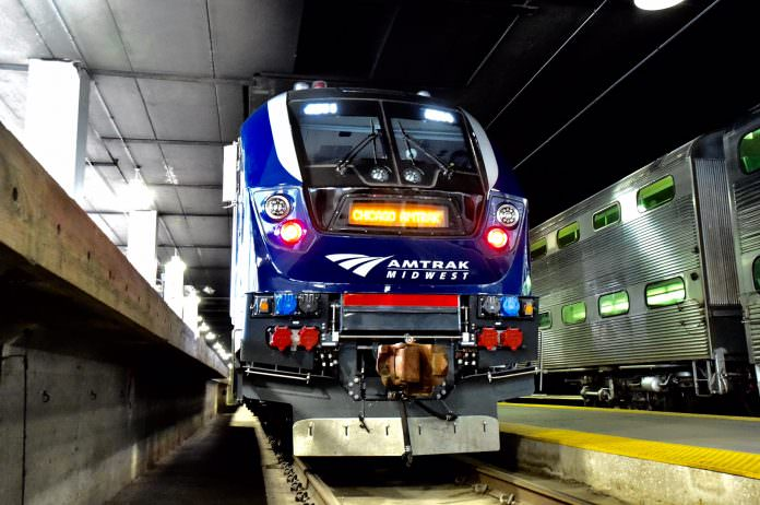 Siemens' new Charger locomotive. Credit: Amtrak.