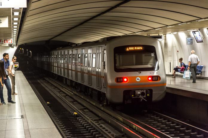 Athens' metro system. Credit: S-F/Shutterstock.