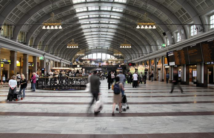 The interior of Stockholm Central station. Credit: Tupungato/Shutterstock.