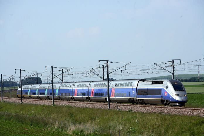 SNCF's TGVs travel at speeds of up to 320km/h. Credit: NSK.