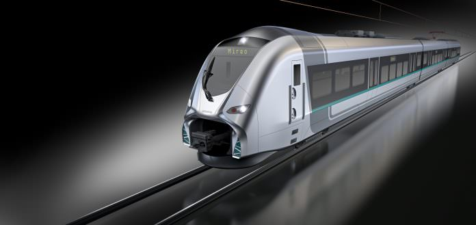 A Mireo trainset. Photo: Siemens.