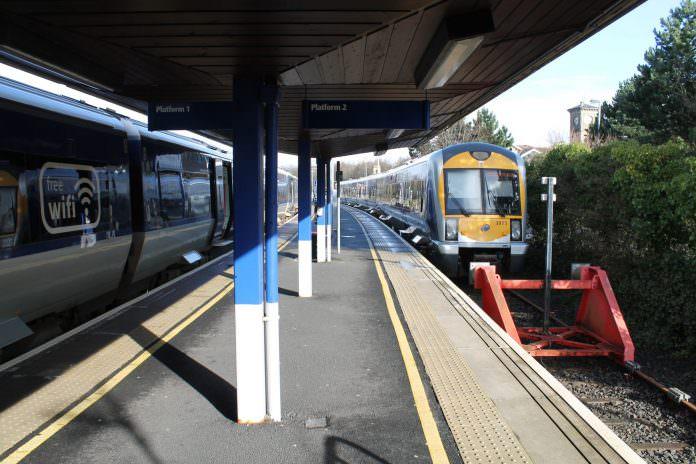 Londonderry railway station. Credit: Milepost98/Shutterstock.
