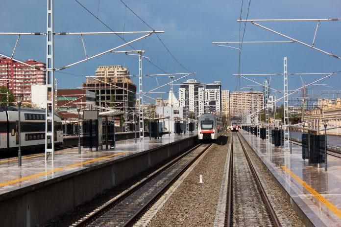 A stock photo of Baku railway station. Credit: Andrii Zhezhera/Shutterstock.