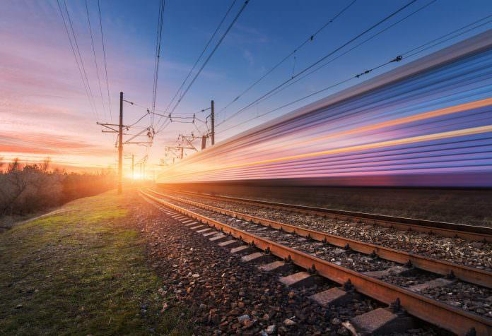 A stock high-speed train photo. Credit: Denis Belitsky/Shutterstock.