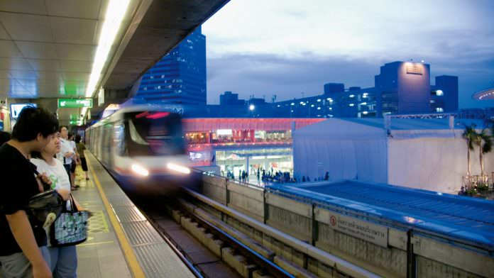 A stock photo of the Skytrain. Credit: Siemens.