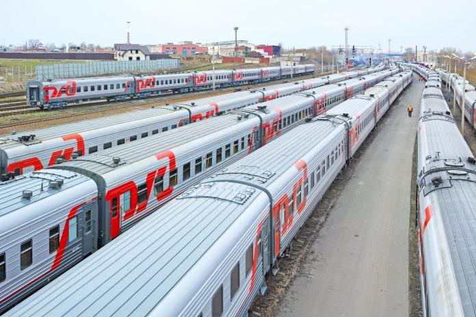 A stock photo of Russian Railways. Credit: Ra3m/Shutterstock.