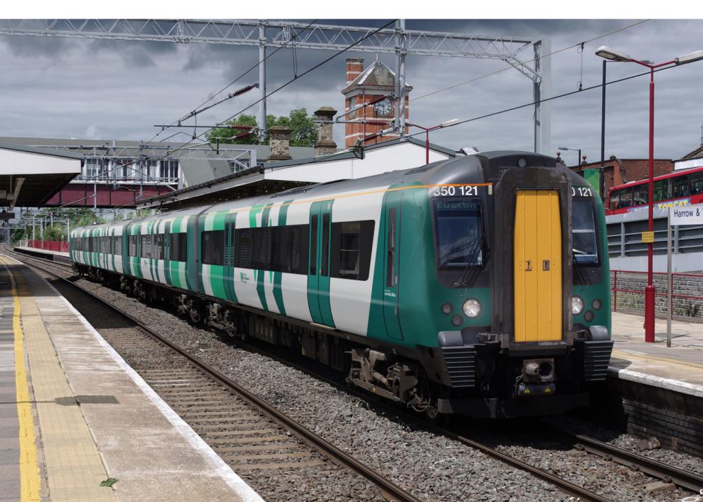 A photo of a London Northwestern train. Credit: Abellio.
