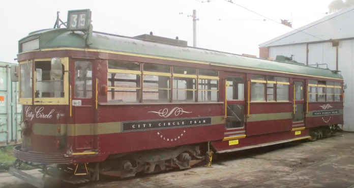The W6 Class tram prior to restoration work. Credit: Bendigo Heritage Attractions.