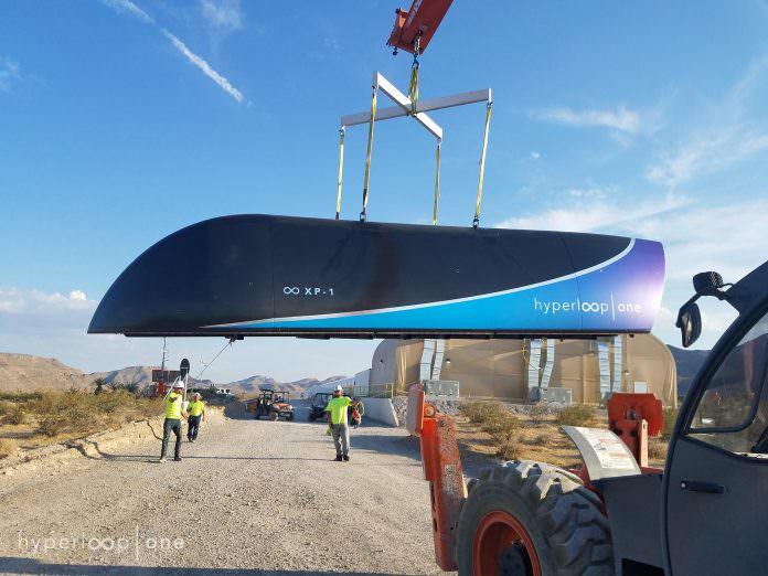 Credit: Hyperloop One.