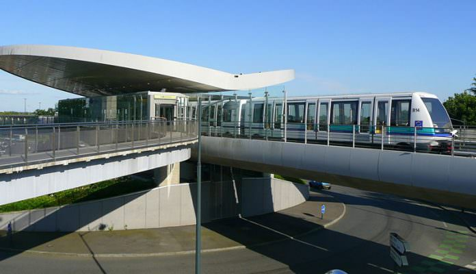 A stock photo of the Rennes Metro. Credit: Pliny.
