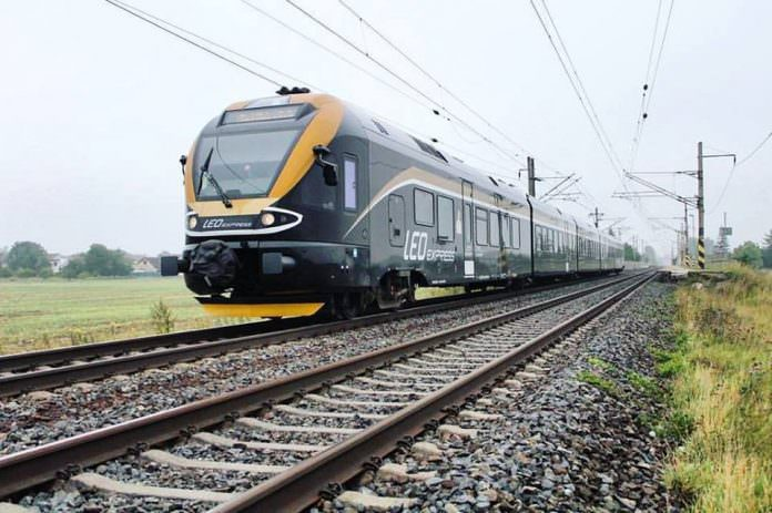 A stock photo of a Leo Express train. Credit: Leo Express.