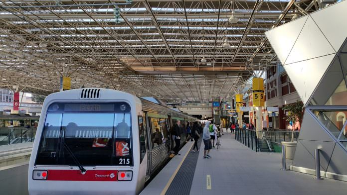 A stock photo of Transperth rolling stock. Credit: Haireena/Shutterstock.