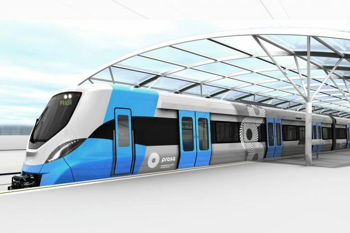 An artist's impression of the new Alstom trains for PRASA. Photo: Alstom.
