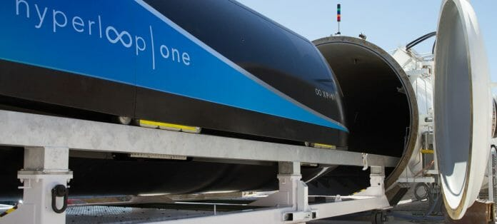 Photo: Hyperloop One.