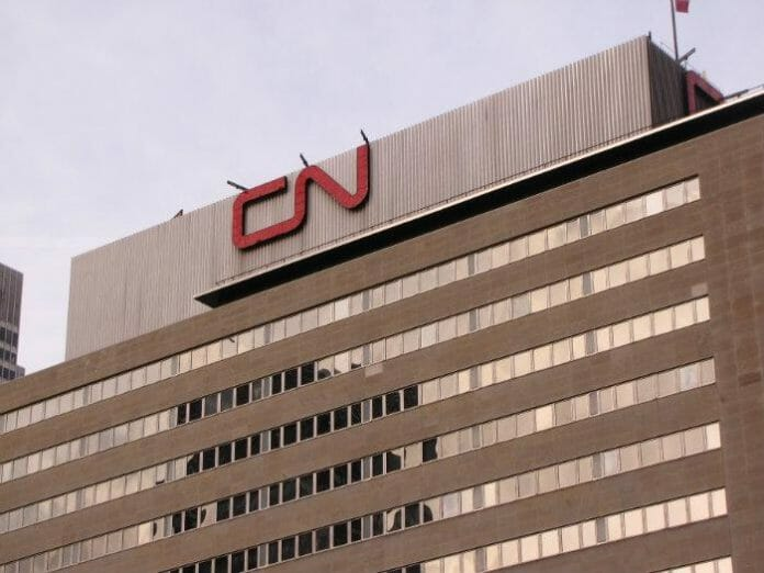 CN Rail's Montreal HQ. Photo: Andrew Bussiere.