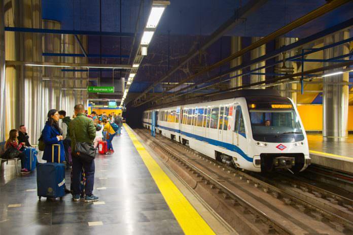 A Madrid metro station pictured in 2016. Photo: Joyfull/Shutterstock.
