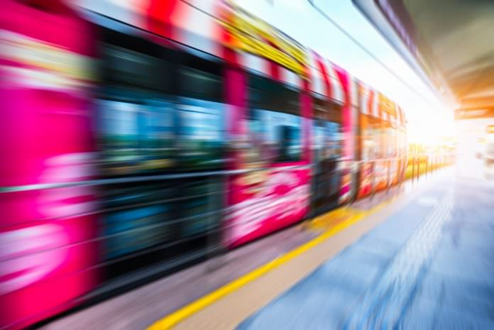 A stock tram photo. Photo: SSguy/Shutterstock.