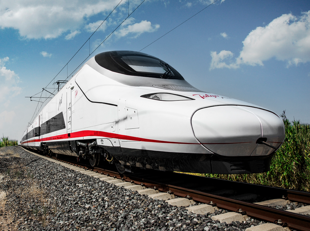 A Talgo Avril very high-speed train. Credit: Talgo.