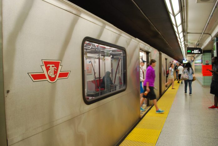 A stock photo of the TTC subway. Photo: J. Louis Bryson / Shutterstock.com.