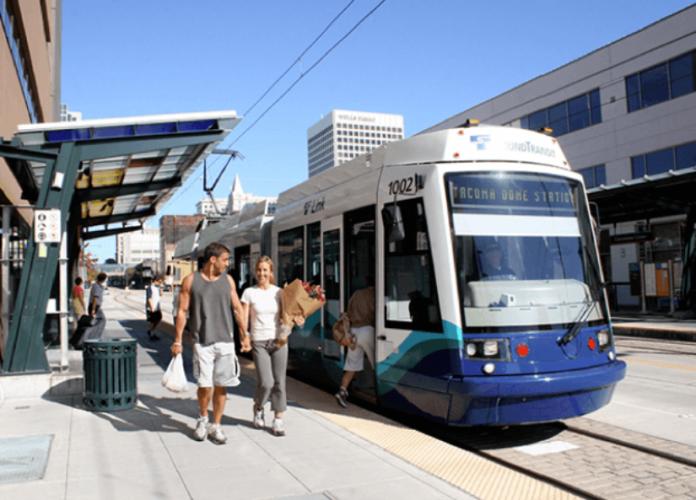 Sound Transit's Tacoma Link light rail system. Photo: Sound Transit.